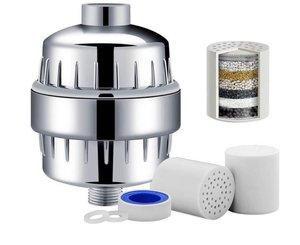 Universeel Douche waterfilter - 15 stappen filtratie